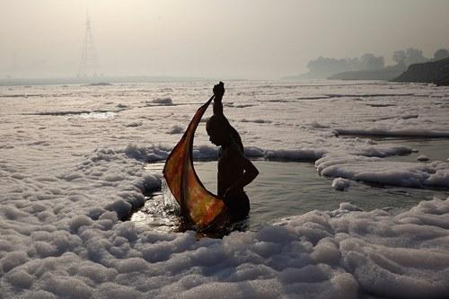Những khoảnh khắc về cảnh thiếu nước ám ảnh hàng triệu người - Ảnh 11