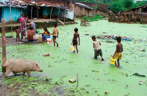 Những khoảnh khắc về cảnh thiếu nước ám ảnh hàng triệu người - Ảnh 6