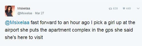 """""""Trớ trêu"""" nữ tài xế Uber lái xe chở tình nhân của bạn trai tới nhà... bạn trai - Ảnh 6"""