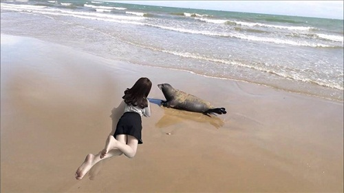 """Nhờ dân mạng ghép cảnh biển vào ảnh, cô gái được du lịch """"bốn biển"""" miễn phí - Ảnh 19"""