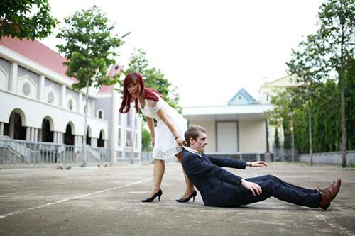 """Chuyện tình ngọt ngào của cô gái Việt """"săn"""" chồng Tây từ lớp 9 - Ảnh 3"""