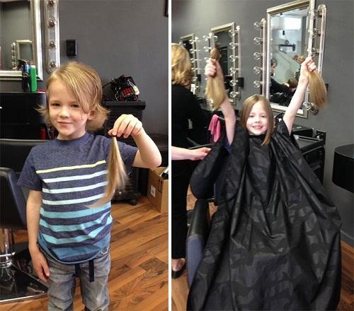6 cậu bé quyết định nuôi tóc dài, khi biết lí do ai cũng sốc - Ảnh 4