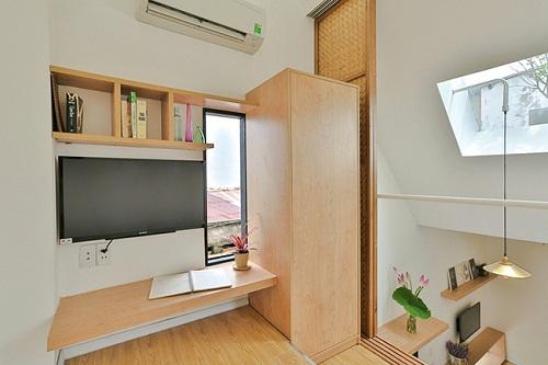 Ngắm ngôi nhà 16m2 đầy đủ tiện nghi nằm trong con hẻm nhỏ tại Sài Gòn - Ảnh 5