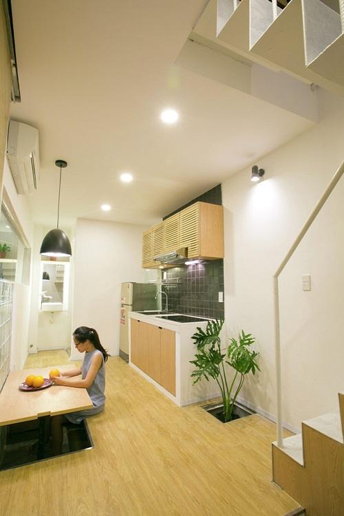 Ngắm ngôi nhà 16m2 đầy đủ tiện nghi nằm trong con hẻm nhỏ tại Sài Gòn - Ảnh 2