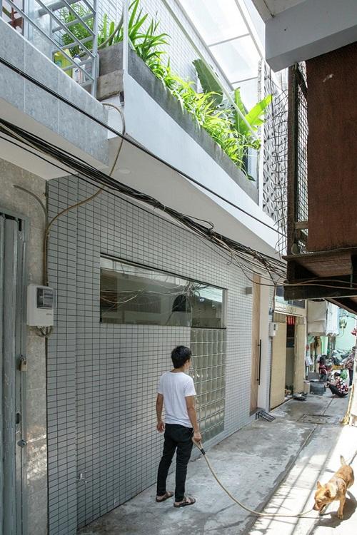 Ngắm ngôi nhà 16m2 đầy đủ tiện nghi nằm trong con hẻm nhỏ tại Sài Gòn - Ảnh 9