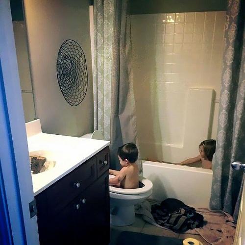 """""""Cười té ghế"""" với loạt ảnh siêu quậy của trẻ nhỏ - Ảnh 11"""
