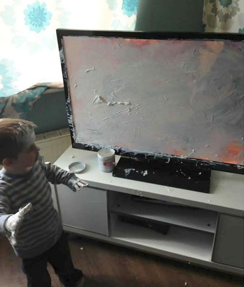 """""""Cười té ghế"""" với loạt ảnh siêu quậy của trẻ nhỏ - Ảnh 4"""