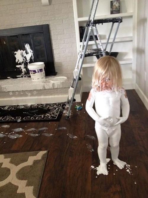 """""""Cười té ghế"""" với loạt ảnh siêu quậy của trẻ nhỏ - Ảnh 9"""