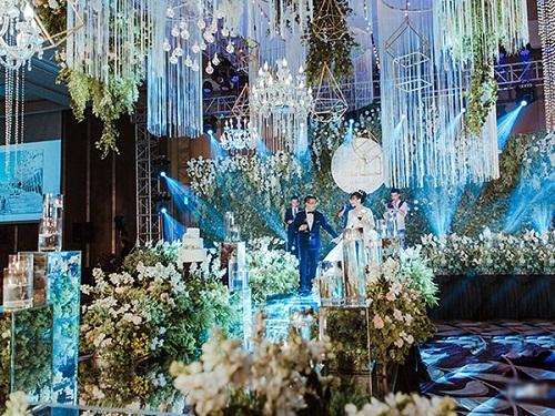 Chuyện tình 8 năm và đám cưới 10 tỷ của cô gái Hà Nội - Ảnh 1