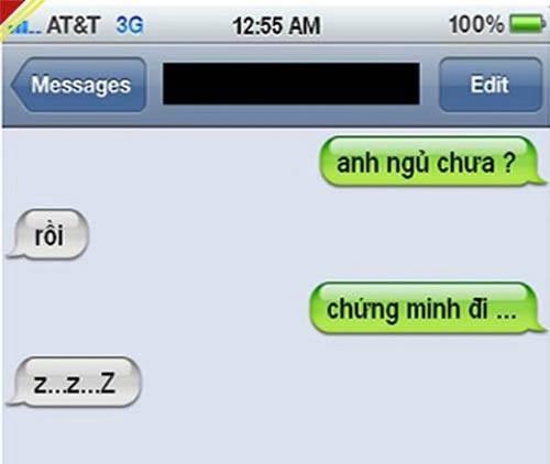 """Chết cười với loạt tin nhắn đối đáp """"khó đỡ"""" của các cặp đôi - Ảnh 5"""