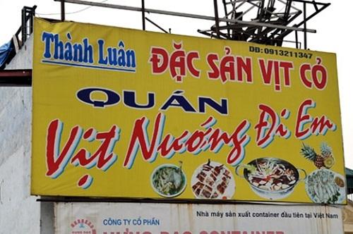 """""""Cười tan mỡ bụng"""" với loạt bảng hiệu """"kỳ cục"""" mà chỉ Việt Nam mới có - Ảnh 1"""