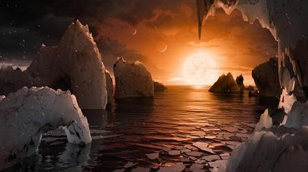 NASA phát hiện 7 hành tinh lớn gần bằng Trái Đất, có khả năng duy trì sự sống  - Ảnh 2