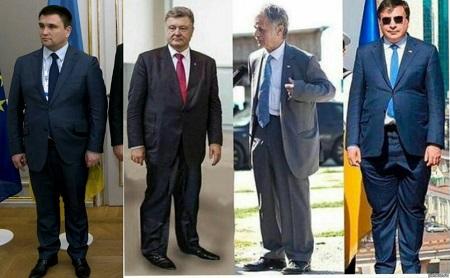 Bộ trưởng Ngoại giao Ukraine gây chú ý vì mặc vest quá chật - Ảnh 2