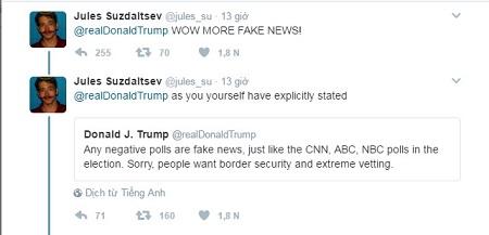 """Đưa tin về người ủng hộ lệnh cấm nhập cư trên Twitter, ông Trump bị tố """"lừa dối"""" - Ảnh 3"""