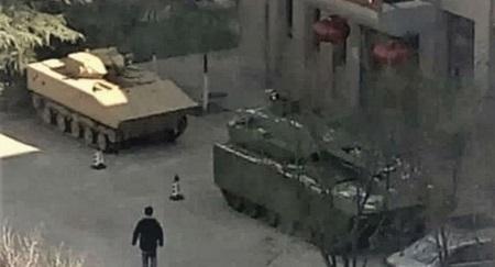 Rò rỉ ảnh nghi là xe quân sự thế hệ mới của Trung Quốc - Ảnh 1