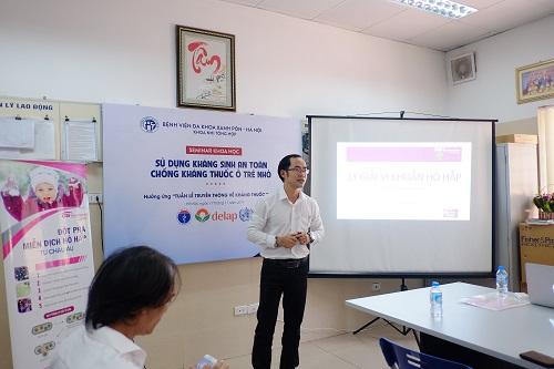 PGS Nguyễn Tiến Dũng phản bác việc cứ dịch mũi trắng đục là dùng kháng sinh - Ảnh 2