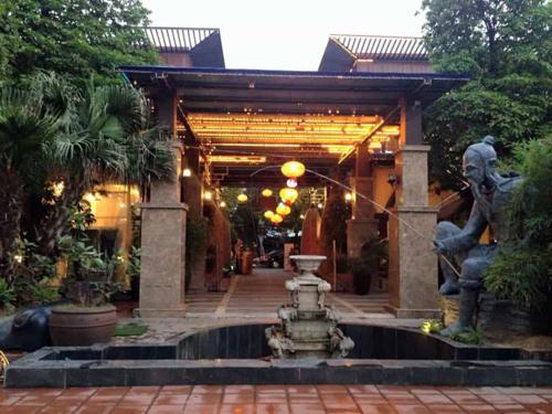 Những nhà hàng có không gian xanh ở Hà Nội - Ảnh 3