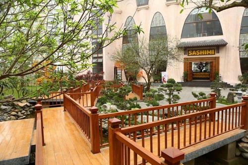 Những nhà hàng có không gian xanh ở Hà Nội - Ảnh 5