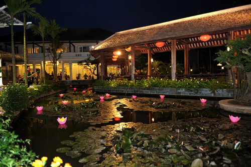 Những nhà hàng có không gian xanh ở Hà Nội - Ảnh 2