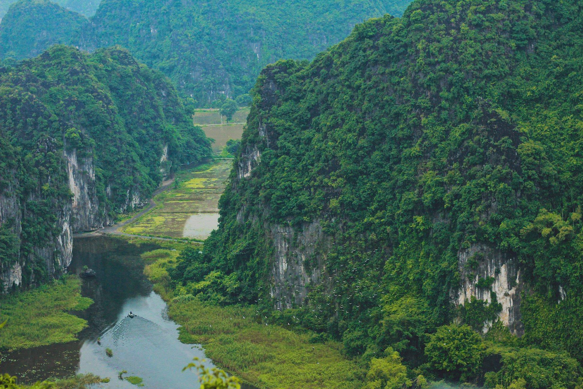 Ngắm hang Múa, Ninh Bình: Tuyệt đẹp trong sắc Thu - Ảnh 7
