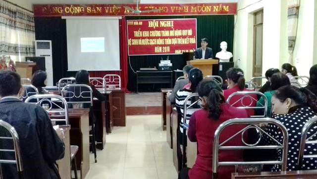 Cao Bằng tổ chức hội nghị, tập huấn về vệ sinh và nước sạch nông thôn - Ảnh 1