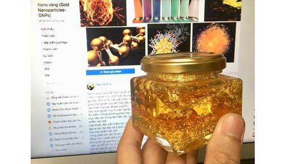 """Sự thật về """"Thần dược"""" nano vàng chữa được ung thư: Thị trường """"ngầm"""" cần loại bỏ! - Ảnh 1"""
