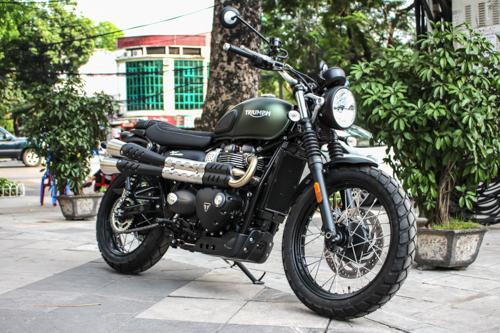 """Mẫu môtô hoài cổ về Việt Nam giá """"chót vót"""" 440 triệu đồng - Ảnh 1"""