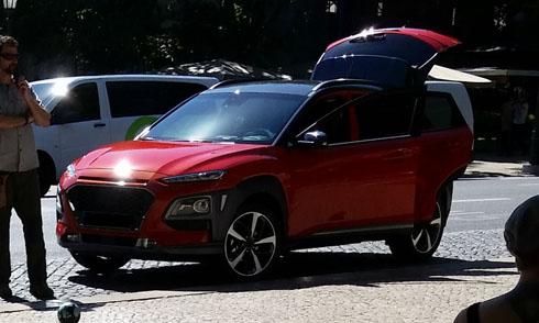Xuất hiện mẫu xe Huyndai mới, đối thủ của Mazda CX-3 - Ảnh 1