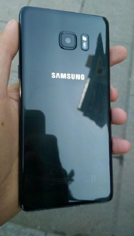 Lộ ảnh thực tế của Galaxy Note7 tân trang - Ảnh 2