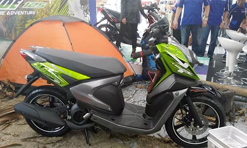 Xuất hiện mẫu xe tay ga đường trường mới của Yamaha giá 29,4 triệu - Ảnh 1
