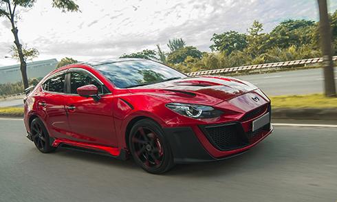Mazda3 phong cách xe đua, bản độ độc tại Việt Nam - Ảnh 1