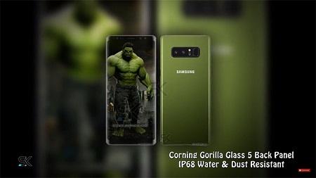 Cận cảnh Galaxy Note 8 phiên bản đặc biệt siêu anh hùng Hulk - Ảnh 2
