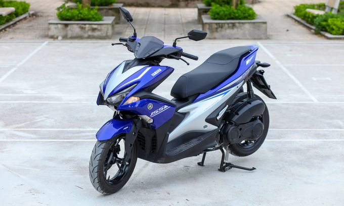 Yamaha NVX 155 phân khối giá 51 triệu đồng - Ảnh 1