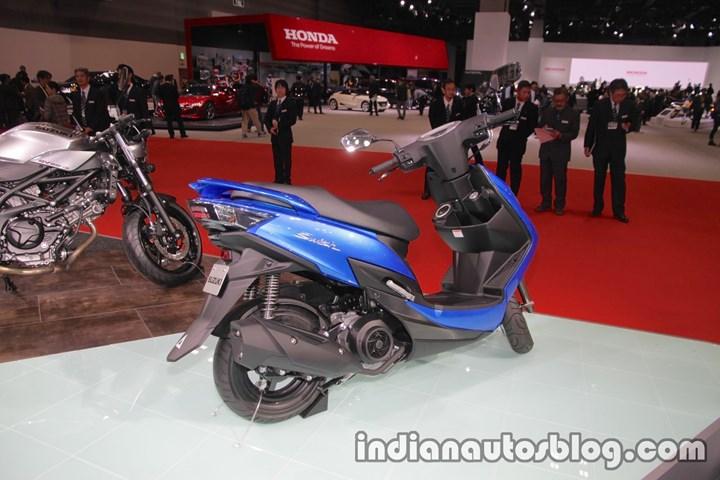 """Suzuki sắp """"trình làng"""" mẫu xe tay ga thể thao  - Ảnh 2"""