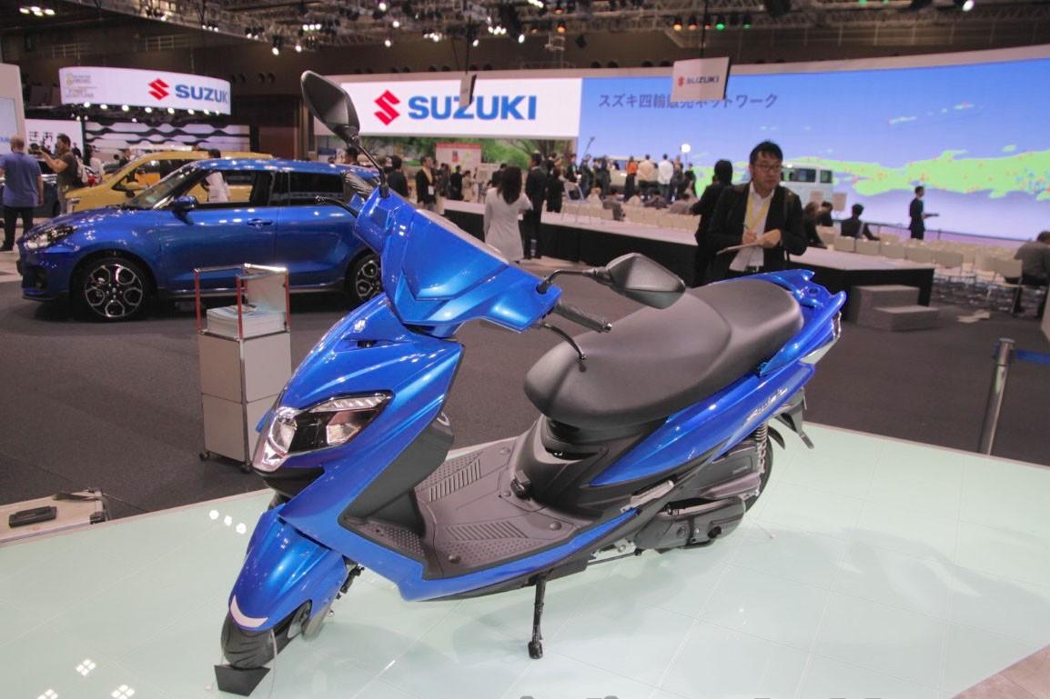 """Suzuki sắp """"trình làng"""" mẫu xe tay ga thể thao  - Ảnh 1"""