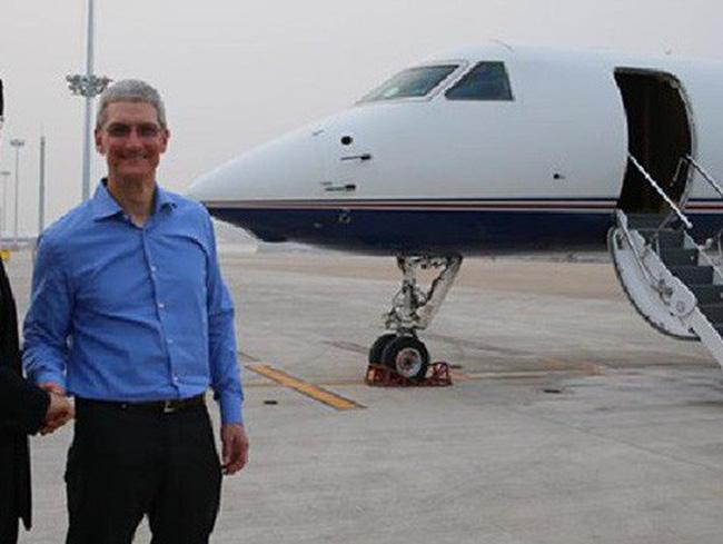 Để đảm bảo an toàn Apple buộc CEO Tim Cook phải sử dụng máy bay riêng - Ảnh 1