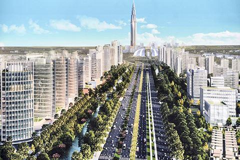 Sắp khởi công dự án Thành phố thông minh giá 4 tỷ USD tại Hà Nội - Ảnh 1