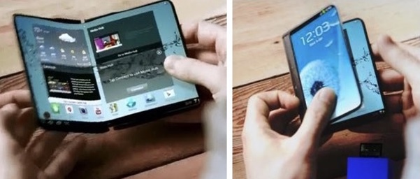 Hé lộ điện thoại Galaxy X gập đôi như cuốn sách  - Ảnh 2