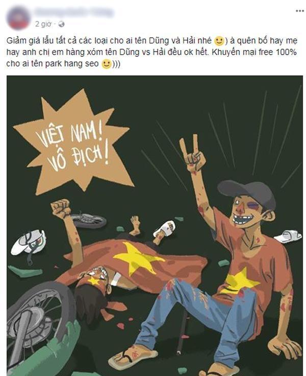 """Nhà hàng, dịch vụ đua nhau giảm giá """"ăn theo"""" chiến thắng U23 Việt Nam - Ảnh 8"""