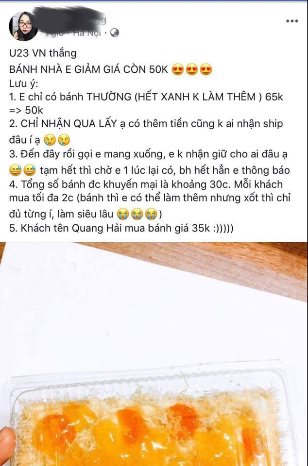"""Nhà hàng, dịch vụ đua nhau giảm giá """"ăn theo"""" chiến thắng U23 Việt Nam - Ảnh 4"""