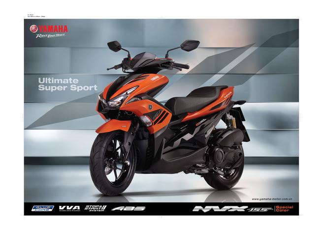 Yamaha NVX 155 ra mắt thêm màu xe mới - Ảnh 1