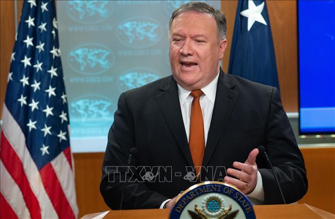 Ngoại trưởng Mỹ Mike Pompeo bắt đầu chuyến công du tới Triều Tiên - Ảnh 1