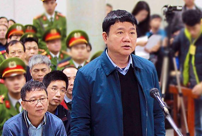"""Ông Đinh La Thăng tiếp tục hầu tòa trong vụ án """"thất thoát 800 tỷ đồng tại ngân hàng OceanBank"""" - Ảnh 1"""