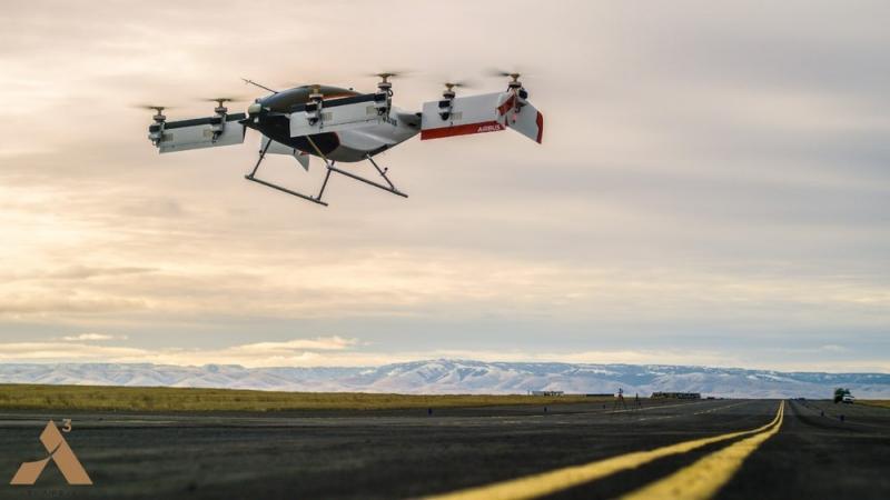 """Airbus """"lặng thầm"""" thử nghiệm thành công máy bay không người lái đầu tiên  - Ảnh 1"""