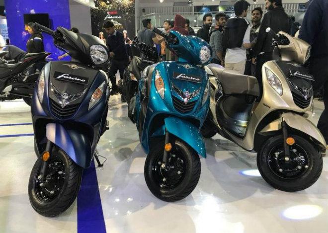 """Cận cảnh mẫu xe tay ga Fascino 2018 của Yamaha giá """"bèo"""" 19 triệu đồng  - Ảnh 1"""