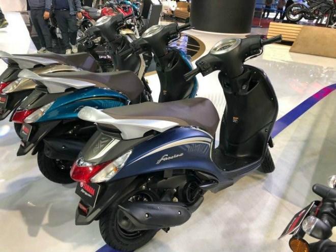 """Cận cảnh mẫu xe tay ga Fascino 2018 của Yamaha giá """"bèo"""" 19 triệu đồng  - Ảnh 2"""