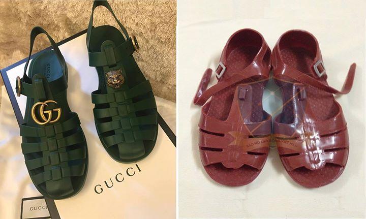 Mẫu sandal của Gucci giống hệt dép rọ Việt Nam có giá đến 11 triệu đồng, ai dám bỏ tiền mua? - Ảnh 1