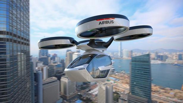 Hai ông lớn Audi và Airbus bắt tay làm taxi bay - Ảnh 2