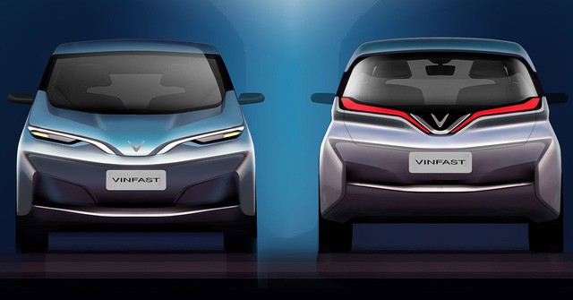 VINFAST công bố 17 mẫu ô tô điện đẹp long lanh - Ảnh 7