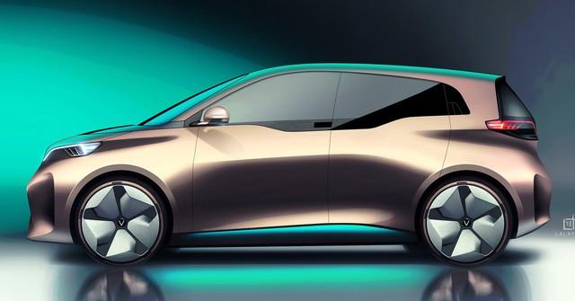 VINFAST công bố 17 mẫu ô tô điện đẹp long lanh - Ảnh 8